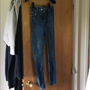 Zara High Waisted Denim